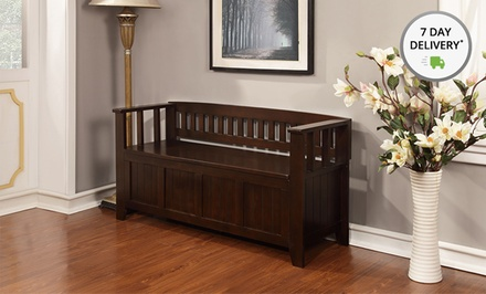 Simpli Home Entryway Storage Bench. Multiple Styles Available. Free Returns.
