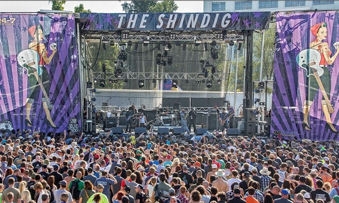 Shindig Festival - Carroll Park: A Father's Day Gift That Rocks—The Shindig: Baltimore's Rock Festival on Saturday, September 19 (Up to 12% Off)
