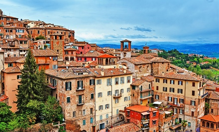 7-Day Italian Culinary Tour w/ Cooking Classes, Meals, and Wine from Epitourean. Price/Person Based on Double Occupancy.