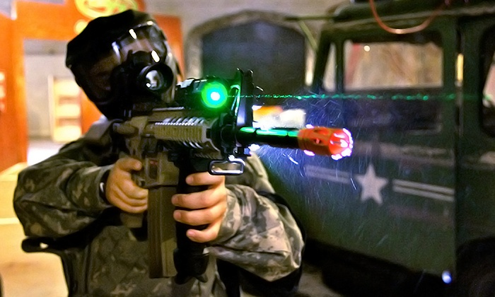 BattleCat Sports - Anderson: $25 for a Two-Hour Airsoft Gun Game with GearRental for Two at BattleCat Sports ($50 Value)