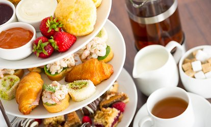 image for Afternoon Tea with a Glass of Fizz for Two or Four at Wicked Lounge - Merchant City (Up to 65% Off)
