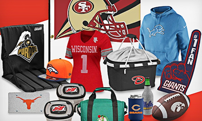 FansEdge: $15 for $25 Worth of Licensed Sports Apparel from FansEdge