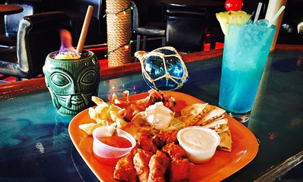 Tiki Cocktails and Appetizers for Two or Four at Taha'a Twisted Tiki (48% Off)
