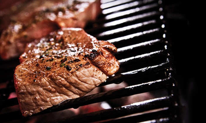 Clancy's Meat Co. - Pilot Sound Area West Portion: Gourmet Chicken or Top Sirloin Steak Dinner for Two or Four at Clancy's Meat Co. (Up to 52% Off)