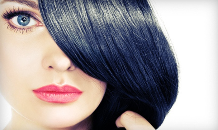 Creations Salon - Modesto: Haircut and Style with Deep Conditioning and Option of Color or Dimensional Color at Creations Salon (Up to 64% Off)