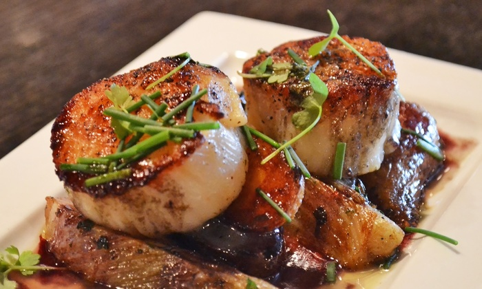 Verde Wine Bar - Deer Park: $189 for a Four-Course Chef's Tasting Dinner with Wine for Two at Verde Wine Bar on April 16 ($350 Value)