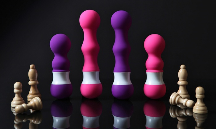 Evolved Checkmates Vibrators by Lovephoria: Evolved Checkmates The Pawn or The Bishop Vibrator in Pink or Purple (Up to 53% Off)