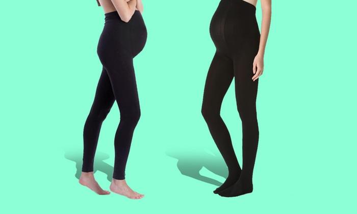 Plush Fleece-Lined Maternity Leggings: Plush Fleece-Lined Maternity Leggings. Multiple Styles and Sizes Available. Free Returns.
