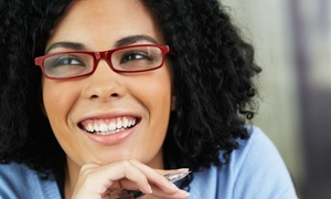 Pearle Vision: Prescription Eyeglasses with Option for Exam at Pearle Vision (Up to 80% Off)