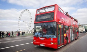 London City Tour: 24-Hour Hop-On Hop-Off Camden Loop Bus Ticket for Adult or Child with London City Tours