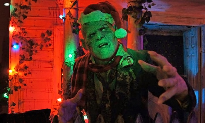 Fright Kingdom - Mine Falls Park: VIP Admission for Two to the Fright Before Christmas at Fright Kingdom on December 11 or 12 (30% Off)