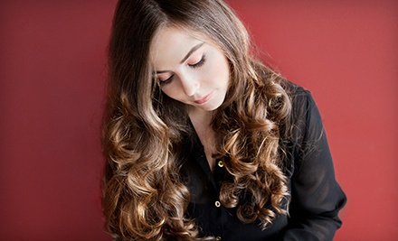 $39 for a Haircut, Style, and Deep-Conditioning Treatment at Pink Lime Salon & Spa ($110 Value)