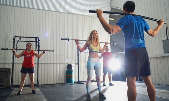 Crossfit classes the garage a gym groupon