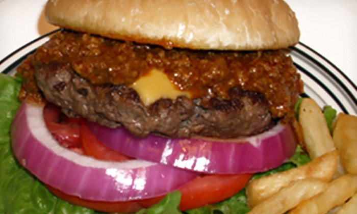The Chili Shak - Houston: Burger Meal for Two or $7 for $15 Worth of Chili-Topped Diner Food at The Chili Shak