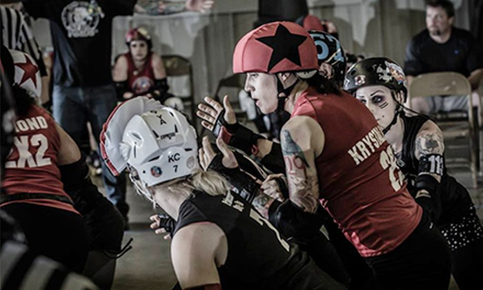 Quad City Rollers - Downtown Davenport: $12 for Quad City Rollers Roller-Derby Bout for Two at RiverCenter on Saturday, August 31, at 6 p.m. (Up to $24 Value)
