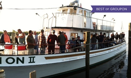 Half Day or Night Fishing Trip for One, Two, or Four from Fish On Charters (Up to 56% Off)