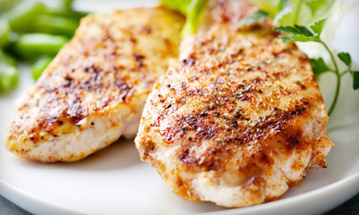 Land and Sea Market - Multiple Locations: $27.50 for a Gourmet Chicken Sampler Package at Land and Sea Market (Up to 49%Off). Four Locations Available.