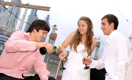 Yacht Party for Two or Four at 8 p.m. or 9 p.m. from Miami A-List (Up to 55% Off)