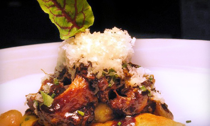 T/X Restaurant - Uptown: Three-Course Upscale Texas-Inspired Dinner for Two or Four (Up to Half Off)