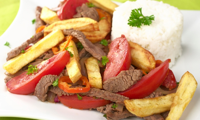 Aguaymanto Grill - Centreville: $12 for $20 Worth of Peruvian Cuisine at Aguaymanto Grill