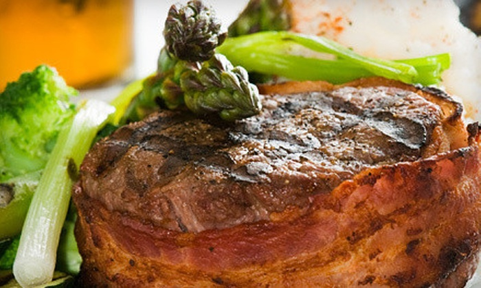 Oakland Hall Inn - Aurora: $25 for $50 Worth of Gourmet Steak, Seafood, and Pasta at Oakland Hall Inn