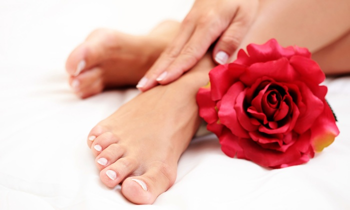 Guru Waxing and Nail Spa - Glenwood Grove - North Iris: $28 for Mani-Pedi at Guru Waxing and Nail Spa ($56 Value)