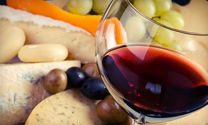 Blue Heron French Cheese Company - Tillamook: $15 for Wine Tasting with Fruit and Cheese Platter for Two at Blue Heron French Cheese Company ($30.50 Value)