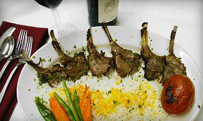 Skewers Kabob House - Modesto: Mediterranean Fare at Skewers Kabob House (Up to 53% Off). Two Options Available.