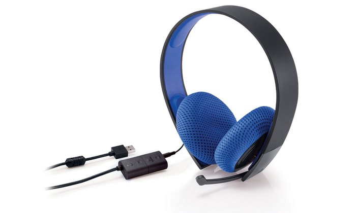 PlayStation Silver Wired Stereo Headset: PlayStation Silver Wired Stereo Headset