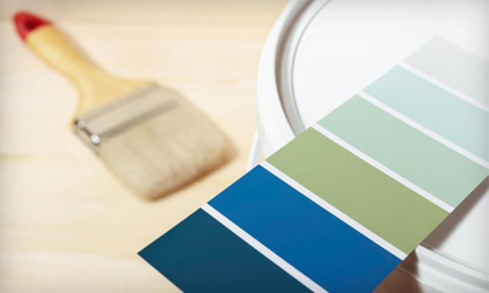 Just Paint - Williamstown: Preparation Work and Two Coats of Paint for One or Two Rooms from Just Paint (Up to 79% Off)