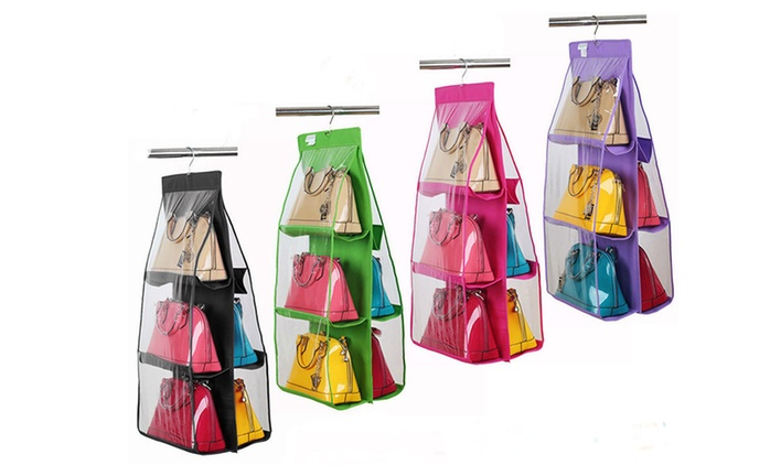 Handbag and Shoes Hanging Storage Holder in Choice of Colour for AED 49 (67% Off)