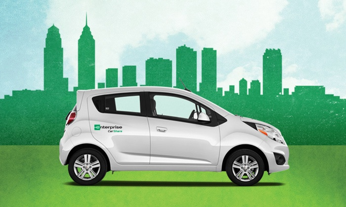 Enterprise CarShare: $10 for One-Year Membership, including the One-Time Application Fee from Enterprise CarShare ($60 Value)