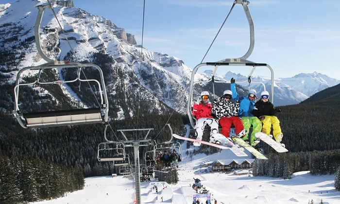 Mt. Norquay - Mt Norquay: One-Day All-Inclusive Lift Ticket with Option for Ski or Snowboard Rental at Mt. Norquay