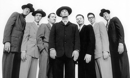 Big Bad Voodoo Daddy on March 20 at 8 p.m.
