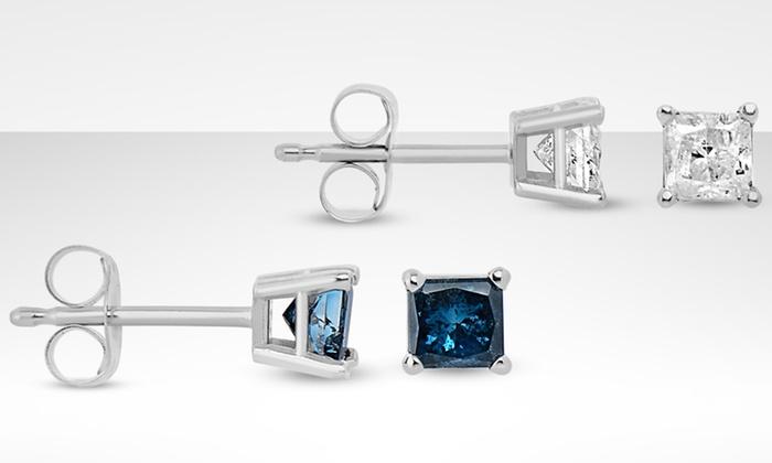 14K Gold 1/2 or 1 Carat Diamond Stud Earrings: 14K Gold 1/2 or 1 Carat Diamond Stud Earringsfrom $159.99—$499.99. Free Returns.