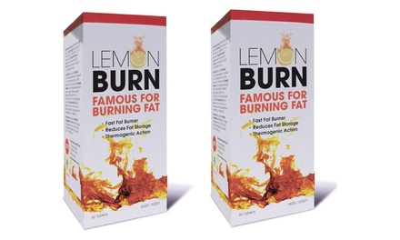 $34.95 for Two Packs of Lemon Detox Burn 60 Tablets Don't Pay $77.10