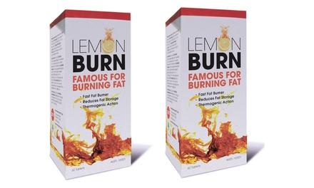 $34.95 for Two Packs of Lemon Detox Burn 60 Tablets Don't Pay $77.10