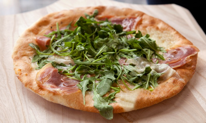 Pure Pizza - First Ward: Locally Sourced Pizzas, Salads, and Sandwiches for Dinner for Two at Pure Pizza (50% Off)