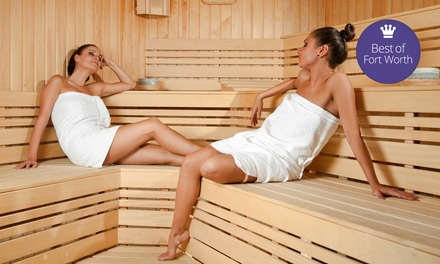 $15 for a Spa Day with Themed Therapy Rooms at King Spa and Sauna-Dallas ($25 Value)