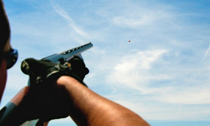 Minneapolis Gun Club - Minneapolis Gun Club: Clay Shooting Package for Two with 100 or 200 Clays and Burgers and Sodas at Minneapolis Gun Club (Up to 52% Off)