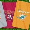 NFL Sweatshirt Throw Blankets
