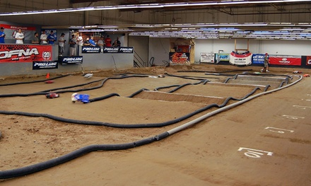 One, Two, or Four Remote-Control-Car Rental Packages at OC/RC Raceway in Huntington Beach (Up to 55% Off)