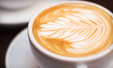 10 Espresso Drinks or Chai Lattes with Optional Pastries at The Curious Grape (Up to 51% Off)