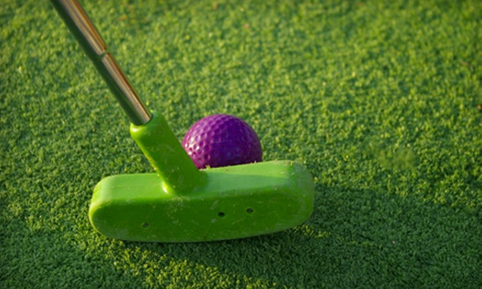Colasanti's Tropical Gardens - Kingsville: One Round of Mini-Golf and Ride for Two, Four, or Six at Colasanti's Tropical Gardens (Up to 52% Off)