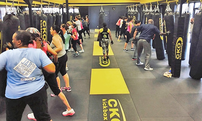 CKO Wall - Wall: Three or Six Kickboxing Classes Plus Gloves (Up to 64% Off)