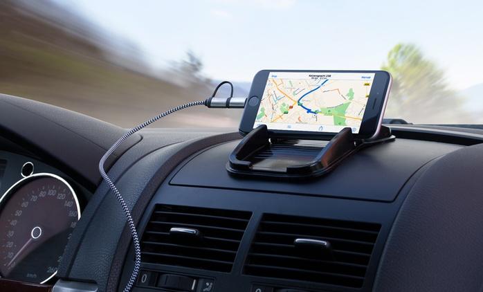 1 o 2 kits de accesorios de smartphone para coches desde 12,98 € € (hasta 77% de descuento)