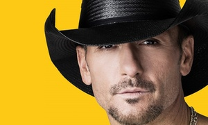 Tim McGraw: Tim McGraw on Friday, September 4, at 7 p.m.