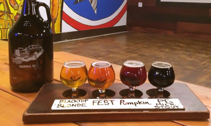 TailGate Beer - TailGate Beer: Beer-Tasting Experience for Two or Four with Flights and Growlers at Tailgate Beer (44% Off)