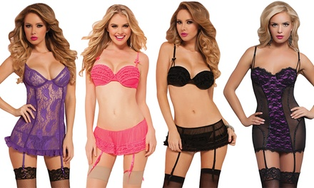 Seven 'Til Midnight Sexy and Flirty Lingerie