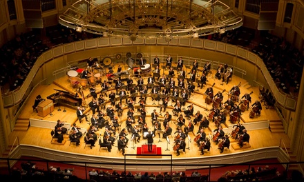 Halloween Horror Movie Night, China NCPA Orchestra, or Beyond the Score with Chicago Symphony Orchestra